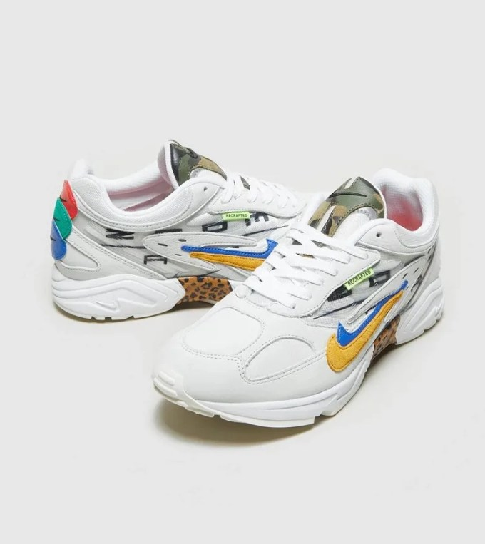 "size? 限定!ナイキ エア ゴースト レーサー ""コピー ペースト"" (NIKE AIR GHOST RACER ""Copy Paste"") [CT2537-100]"