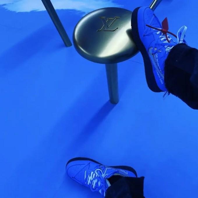 """University Blue""カラー第2弾!?OFF-WHITE c/o VIRGIL ABLOH × NIKE AIR FORCE 1 LOW (オフホワイト ナイキ エア フォース 1 ロー ""ユニバーシティブルー"")"