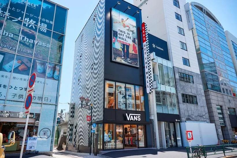 6/13から「VANS STORE HARAJUKU」がオープン