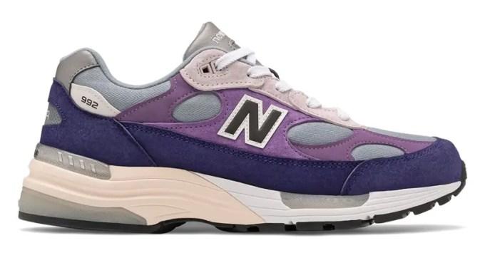 "New Balance M992 AA ""Navy/Purple"" (ニューバランス ""ネイビー/パープル"")"