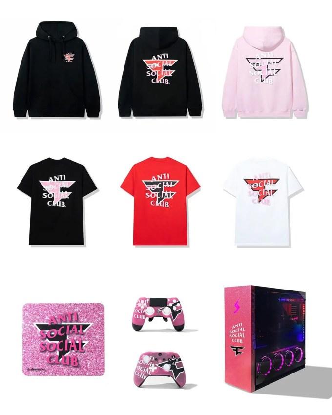 Anti Social Social Club × FaZe Clan コラボが8/29発売 (アンチ ソーシャル ソーシャル クラブ フェイズクラン)