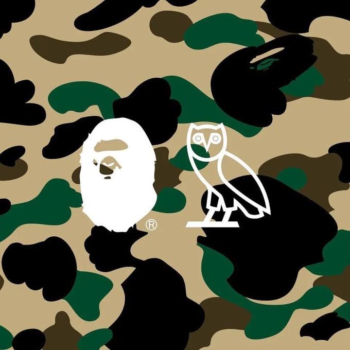 【近日発売】OVO × A BATHING APE コラボレーション (OVO コラボダウンジャケットが11/1発売 (OCTOBERS VERY OWN オクトーバーズ ベリー オウン ア ベイシング エイプ)