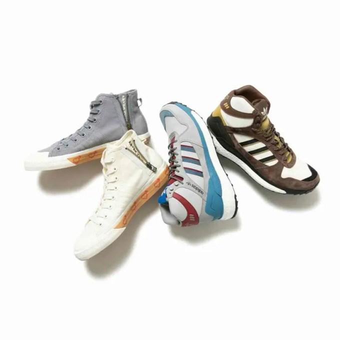 【世界先行】adidas Originals by HUMAN MADE NIZZA HI HM / アパレルが11/23 発売 (アディダス オリジナルス バイ ヒューマンメイド ニッツァ)