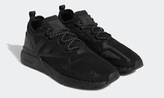 """12/12 発売!Pharrell Williams x adidas Originals ZX 2K BOOST """"Triple Black"""" (ファレル・ウィリアムス アディダス オリジナルス ゼットエックス 2K ブースト """"トリプルブラック"""") [GY4976]"""