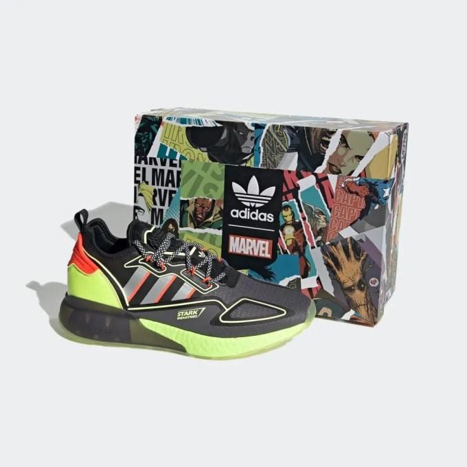4/8 発売!マーベル × アディダス オリジナルス ゼットエックス 2K ブースト 3カラー (MARVEL adidas Originals ZX 2K BOOST) [H02559,H02560,H02561]