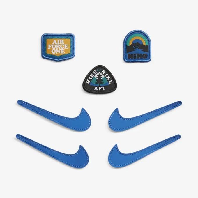 """ナイキ GS エア フォース 1/1 ロー """"ホワイト/サファイアブルー"""" (NIKE GS AIR FORCE 1/1 LOW """"White/Sapphire Blue"""") [DB4545-105]"""