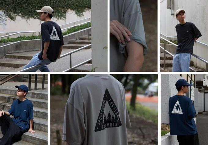 Columbia × SHIPS / 別注 アウトドアとストリートスタイルを融合したEXCLUSIVE Tシャツが4/16 発売 (コロンビア シップス)