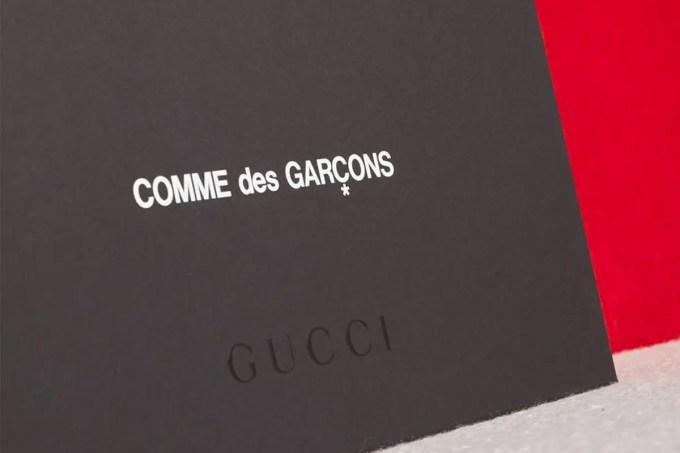 COMME des GARCONS × GUCCI コラボレーションが10/15 発売 (コム デ ギャルソン グッチ)