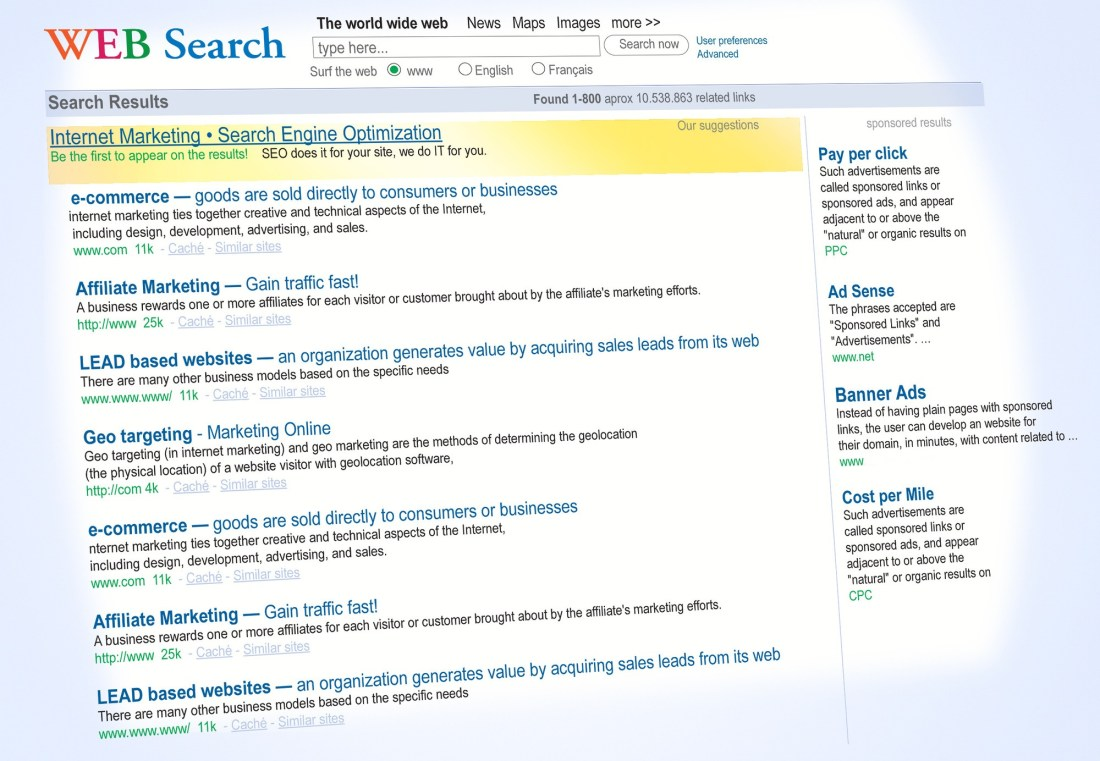 how to get on top of a google search