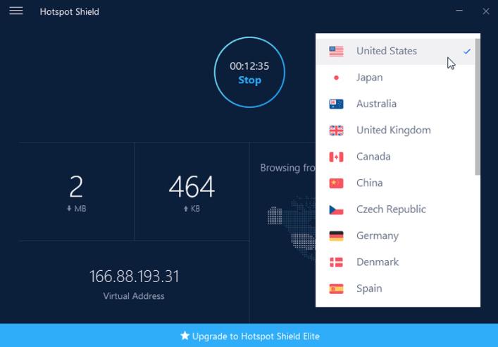 Hotspot Shield VPN Elite latest version