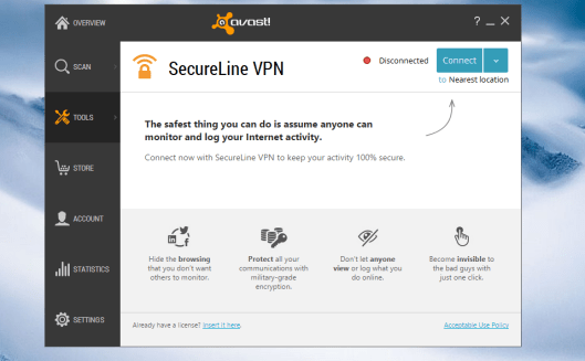 Avast Secureline Vpn latest version