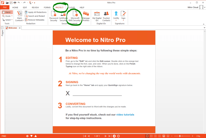 Nitro Pro latest version