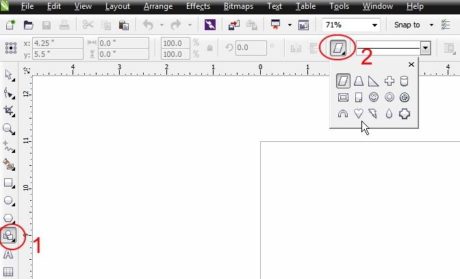 CorelDRAW Graphics X windows