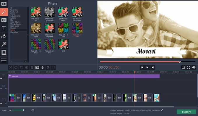 Movavi Photo Editor windows