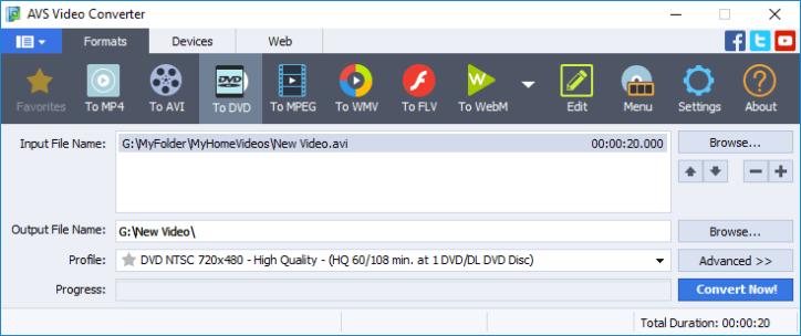 AVS Video Converter windows