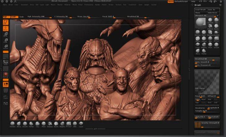 Pixologic Zbrush latest version