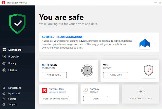 Bitdefender Antivirus latest version