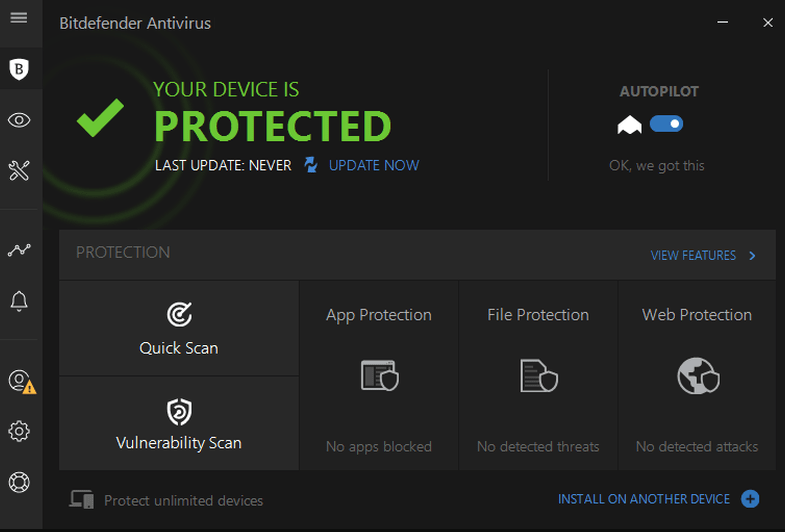 Bitdefender Antivirus windows