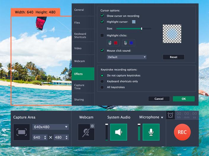 Movavi Screen Recorder windows