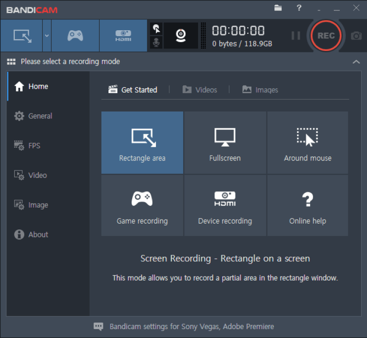 Bandicam Screen Recorder latest version