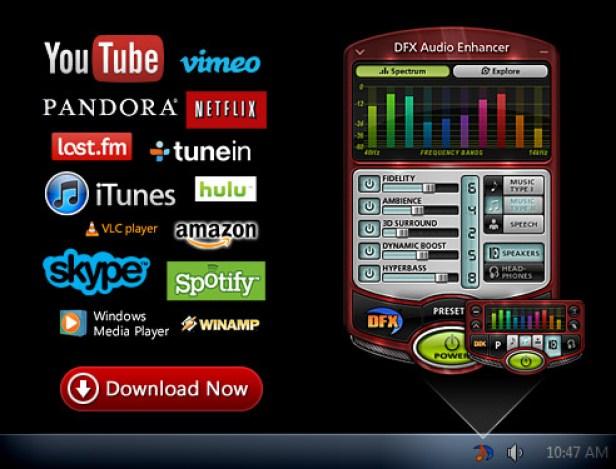 DFX Audio Enhancer windows
