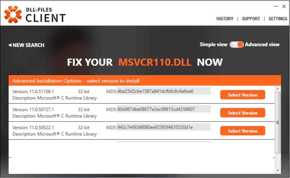 DLL-Files Client windows