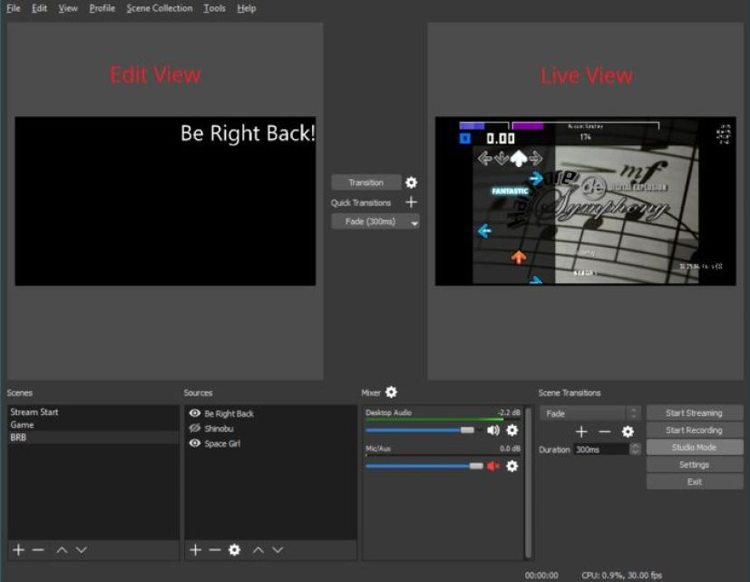 OBS Studio latest version