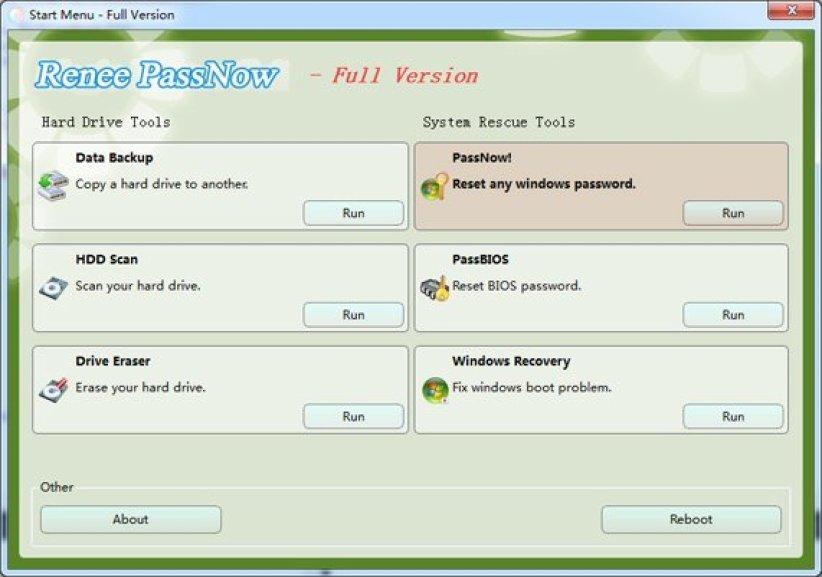 Renee Password windows