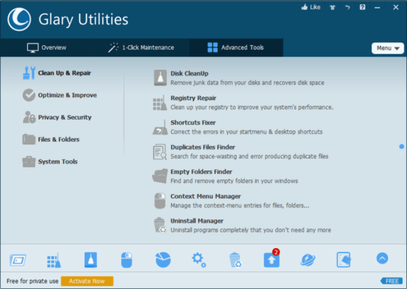 Glary Utilities Pro latest version