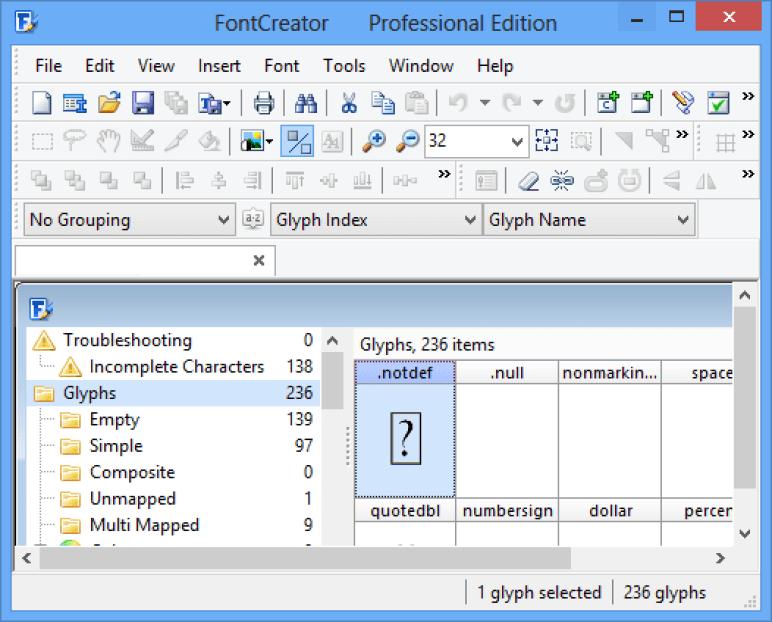 FontCreator latest version