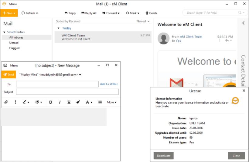 eM Client Pro windows