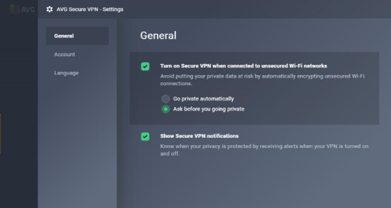 AVG Secure VPN latest version