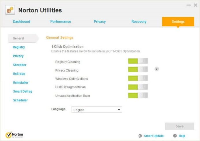Norton Utilities Premium windows