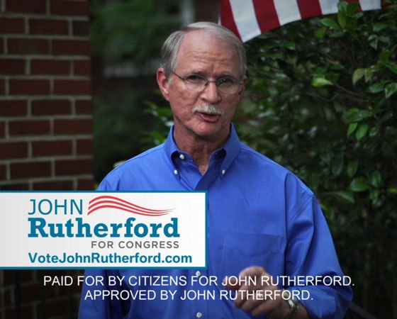 JOHN RUTHERFORD CAMPAIGN