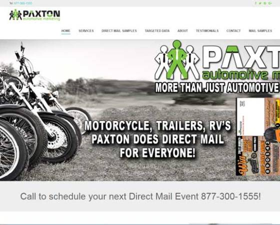 PAXTON AUTO MARKETING