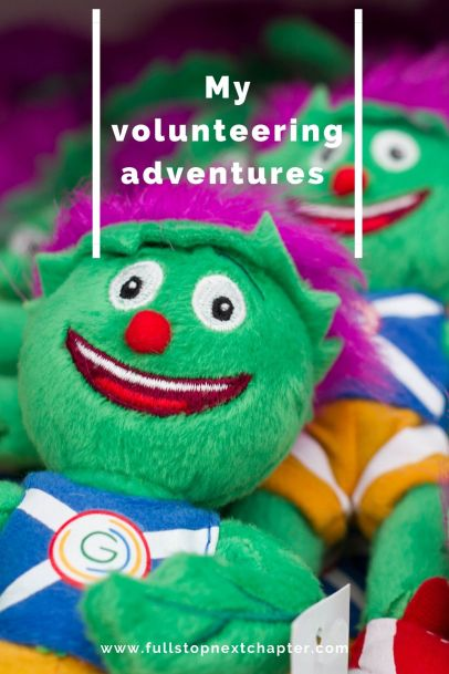 Pin for later: My Volunteering Adventures. Photo of Clyde mascot soft toys