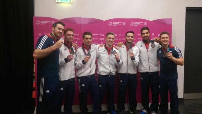 GB Mens gymnastic team 2018