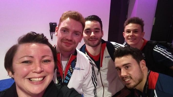 Volunteering at the World gymnastics championships 2018 in Glasgow