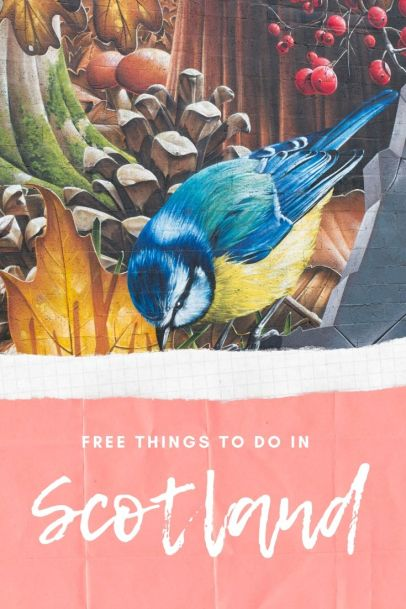 Pin for Later - Free things to do in Scotland