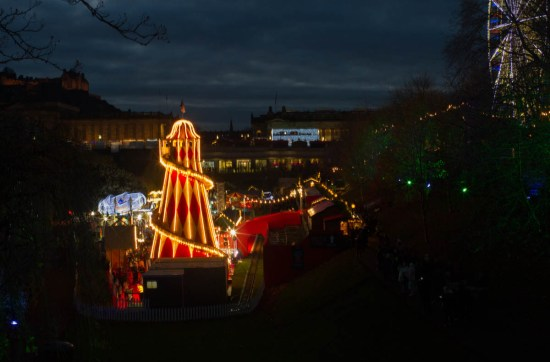 Edinburgh, Christmas markets, Scotland