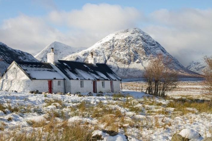 Glen Coe, Winter, Scotland