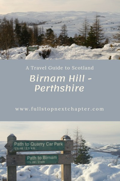 Pin for Later - Birnam Hill