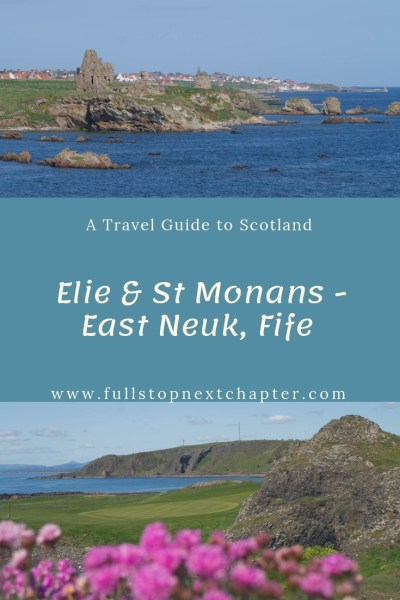 Pin for later - Elie and St Monans