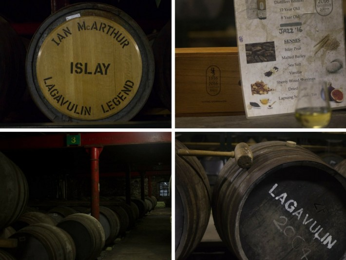 Lagavulin Warehouse Tour, Islay, Scotland
