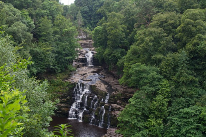 Falls of Clyde, Scottish Travel Blogger, Waterfalls in Scotland
