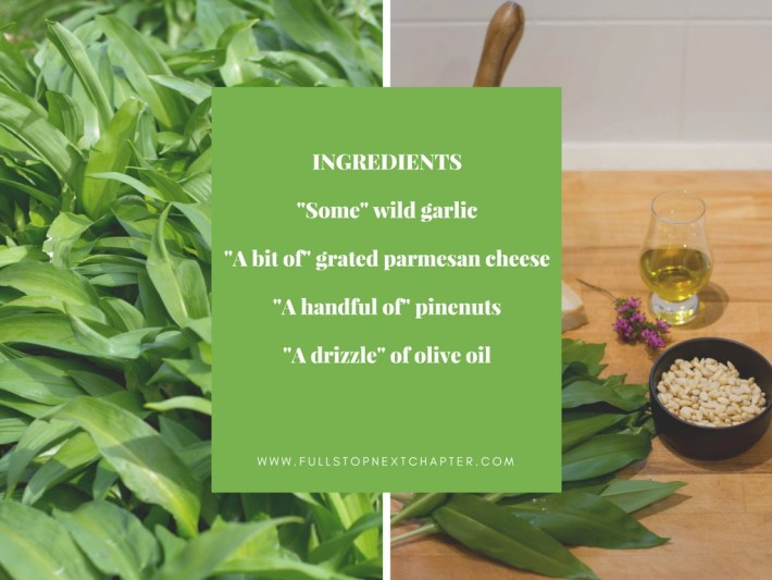 Wild Garlic Recipe