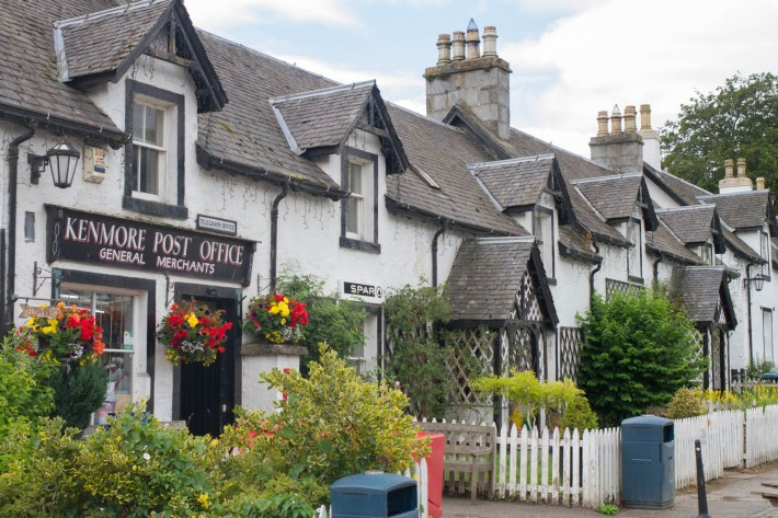 Kenmore Post office, Perthshire
