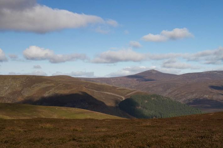 Mount Keen, Angus Glens, Scotland. Hilltops in Scotland. Mount Keen is Scotland's most easterly munro