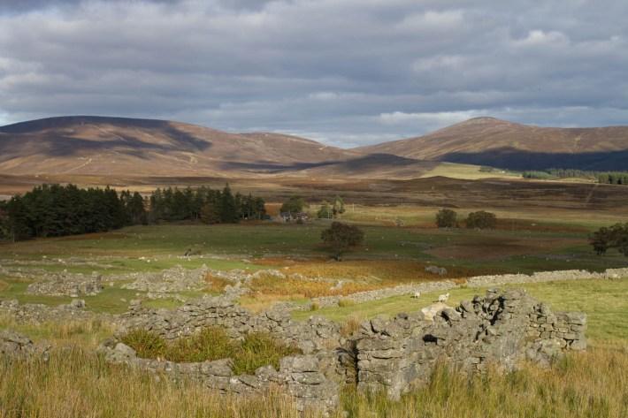 Arsallary township, Glen Esk, Angus Glens