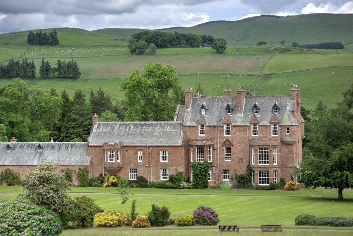 Cringletie House, Scottish Borders